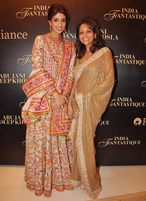 Shweta Bachchan and Gauri Khan
