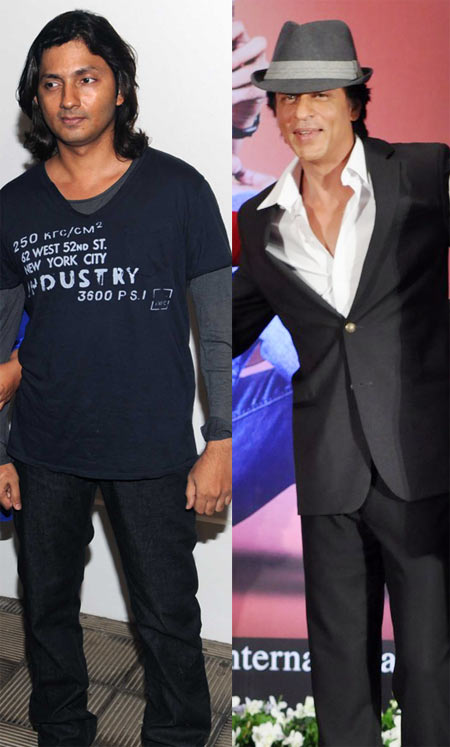 Shirish Kunder and Shah Rukh Khan