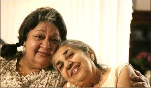 Daisy Irani and Shammi