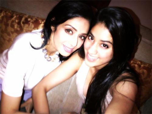 Sridevi and Jahnvi