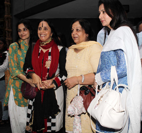 Rajeshwari Sachdev, Ila Aruna, Rohini Hattangadi and Poonam Dhillon