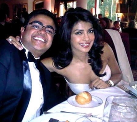 Priyanka and Siddharth Chopra