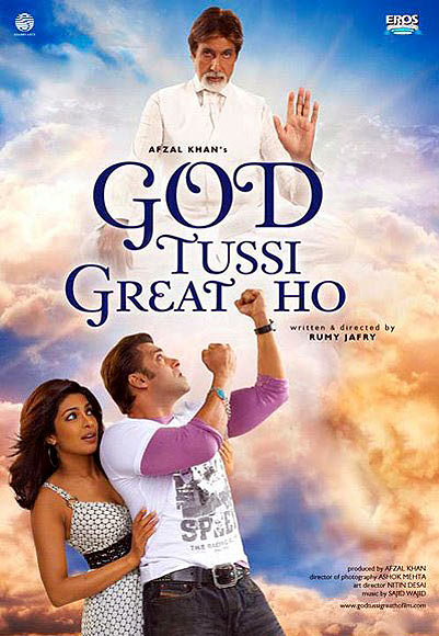 Movie poster of God Tussi Great Ho