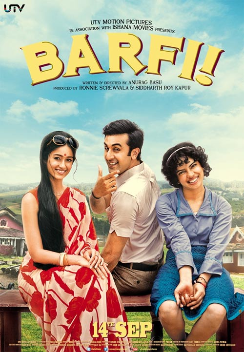Movie poster of Barfi!