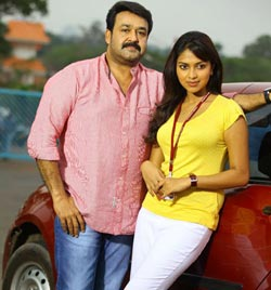 Mohanlal and Amala Paul in Run Baby Run