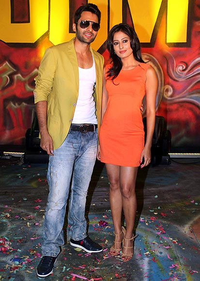 Jackky Bhagnani and Nidhi Subbaiah