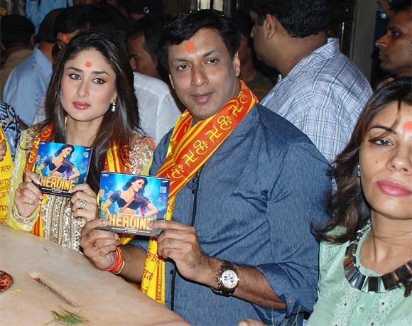 Kareena Kapoor and Madhur Bhandarkar