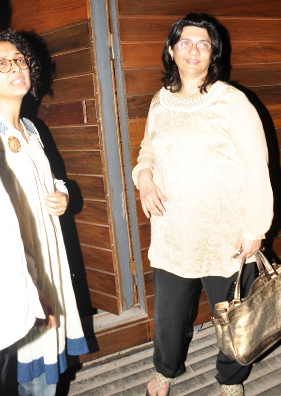Dr Firuza Parikh with Kiran Rao