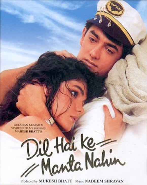 Movie poster of Dil Hai Ki Manta Nahi