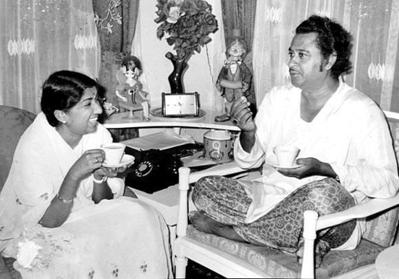 Lata Mangeshkar, Kishore Kumar