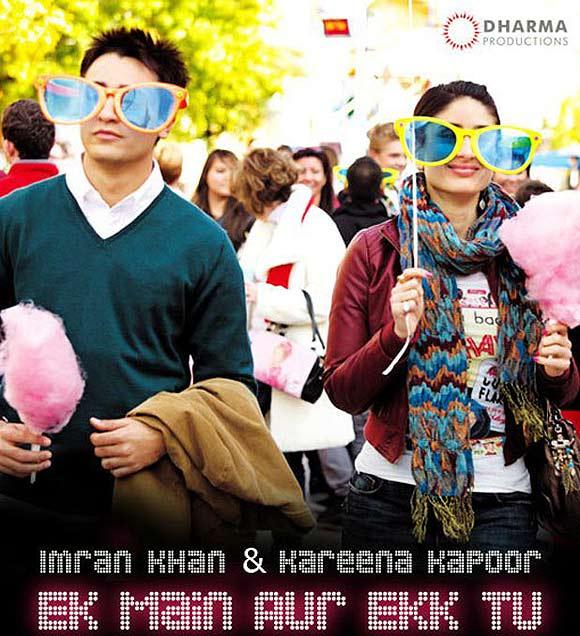 Movie poster of Ek Main Aur Ekk Tu