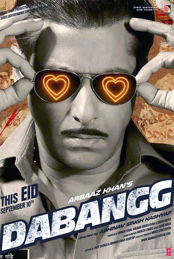 Movie poster of Dabangg