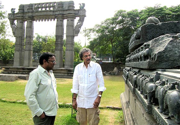 Thota Tharani and Gunasekhar
