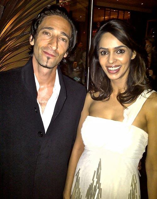 Adrien Brody and Mallika Sherawat