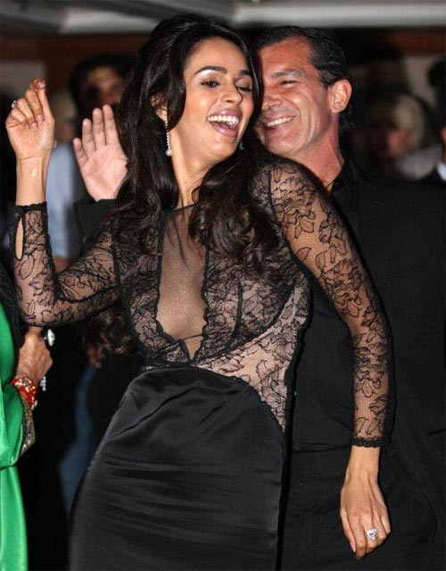 Mallika Sherawat and Antonio Banderas