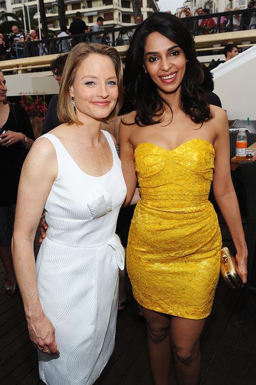 Jodie Foster and Mallika Sherawat