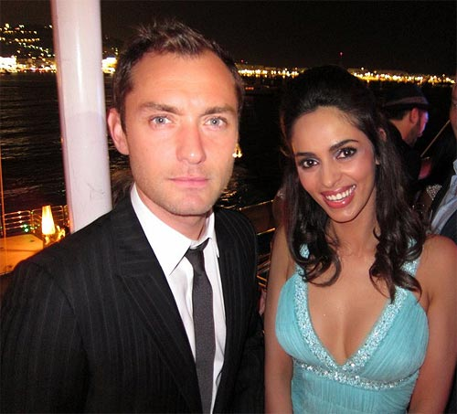 Jude Law and Mallika Sherawat