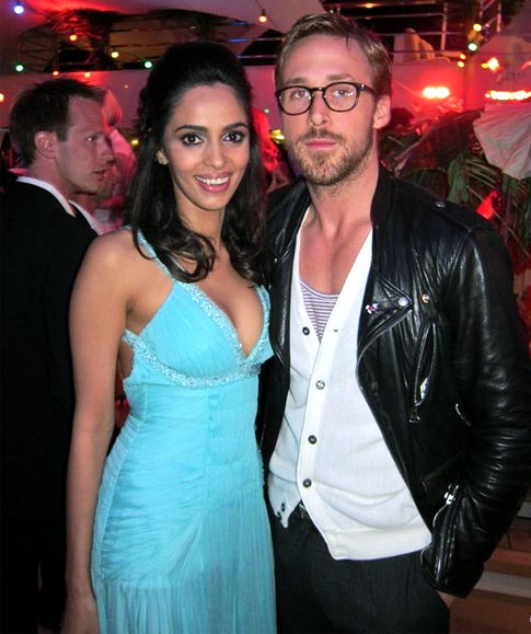 Mallika Sherawat and Ryan Gosling