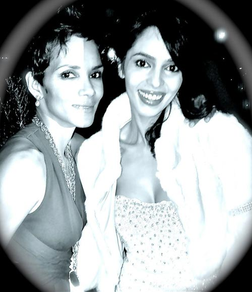 Halle Berry and Mallika Sherawat