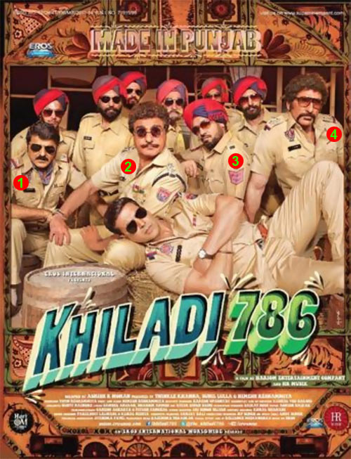 Movie poster of Khiladi 786