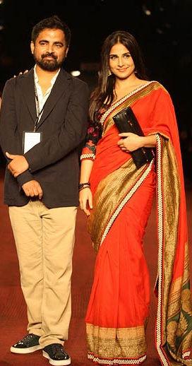 Vidya Balan with Sabyasachi