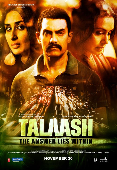 The Talaash poster