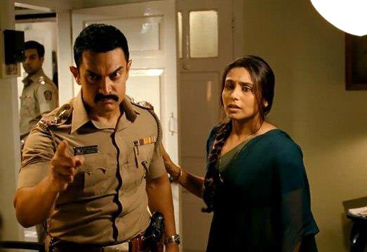 Aamir Khan and Rani Mukerji in Talaash