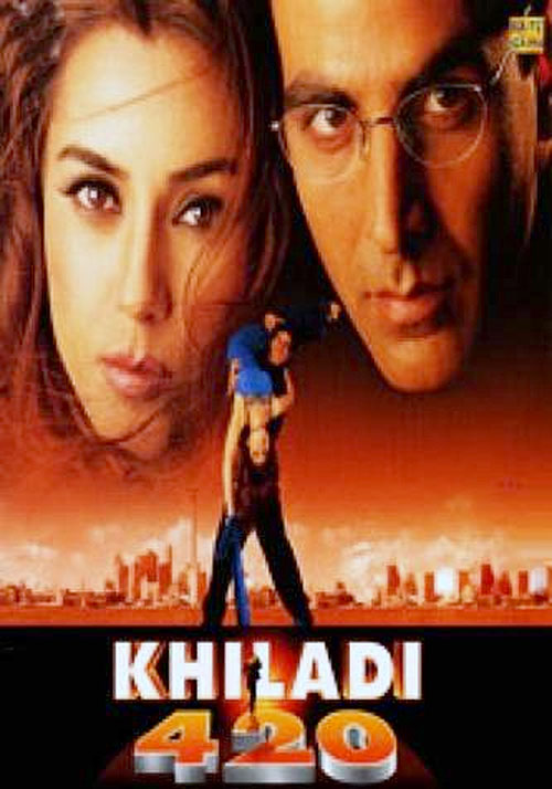 Movie poster of Khiladi 420