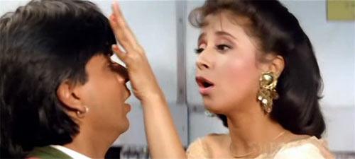 Shah Rukh Khan and Urmila Matondkar in Chamatkar