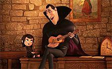 A scene from Hotel Transylvania