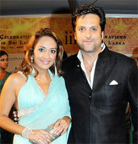 Natasha and Fardeen Khan