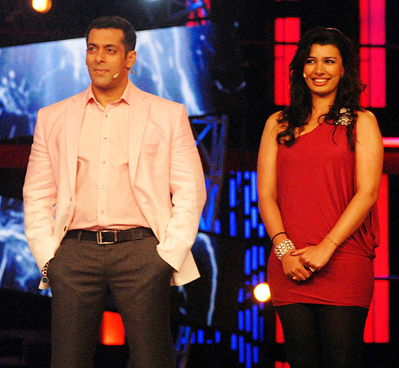 Salman Khan and Mink Brar