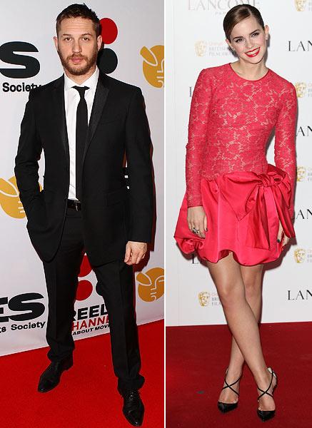 Tom Hardy and Emma Watson