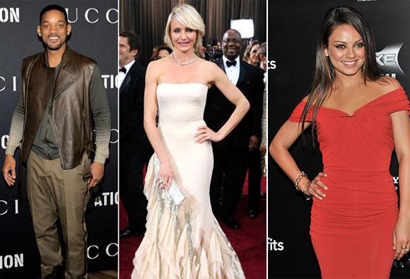 Will Smith, Cameron Diaz and Mila Kunis