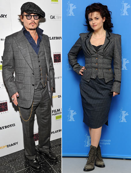 2. Johnny Depp and Helena Bonham Carter