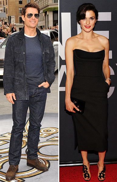Tom Cruise and Rachel Weisz