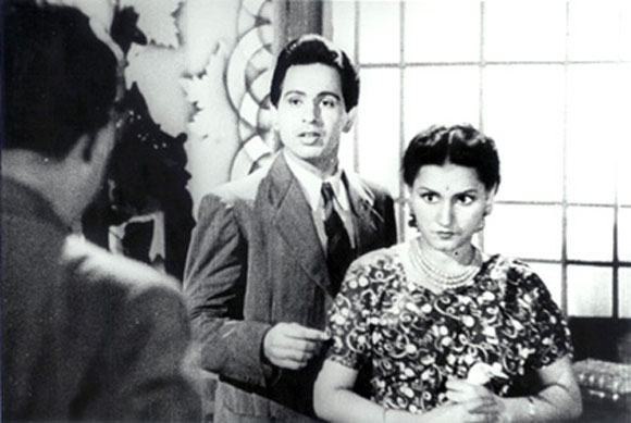 Dilip Kumar with Noor Jehan in Jugnu