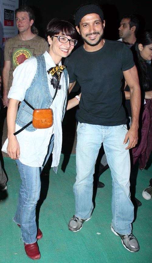 Adhuna and Farhan Akhta
