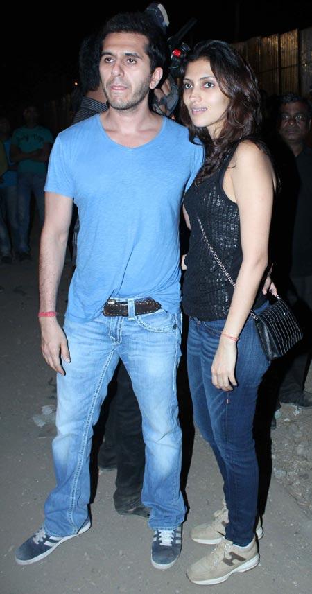 Ritesh and Dolly Sidhwani