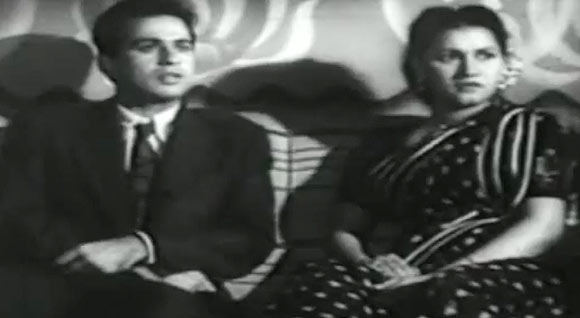 Dilip Kumar and Noor Jehan in Jugnu