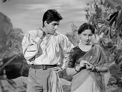 Dilip Kumar and Meena Kumari in Azaad