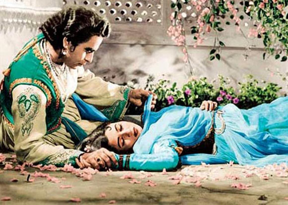 A scene from Mughal-E-Azam