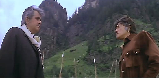 A scene from Saudagar