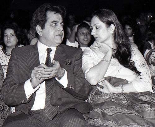 Dilip Kumar and Saira Banu