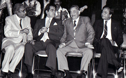 Ashok Kumar, Dilip Kumar, Raj Kapoor, Sunil Dutt