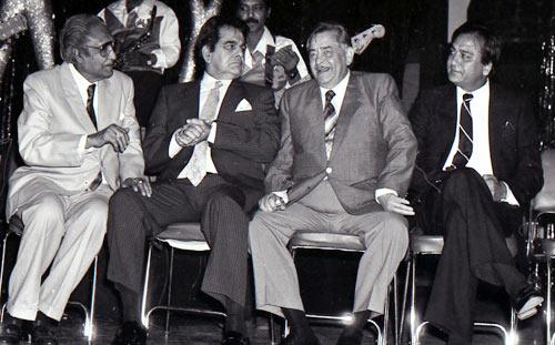 Ashok Kumar, Dilip Kumar, Raj Kapoor, Sunil Dutt