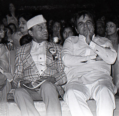V Shantaram and Dilip Kumar