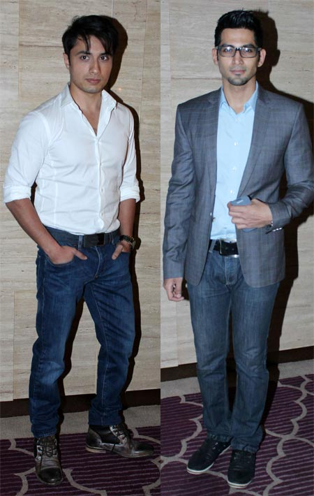 Ali Zafar and Vivan Bhatena