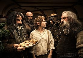 A scene from The Hobbit