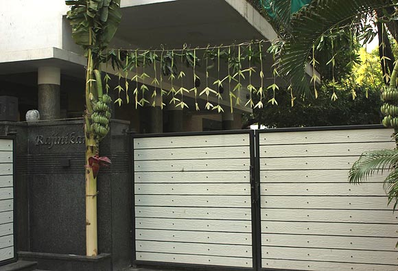 Rajinikanth's home